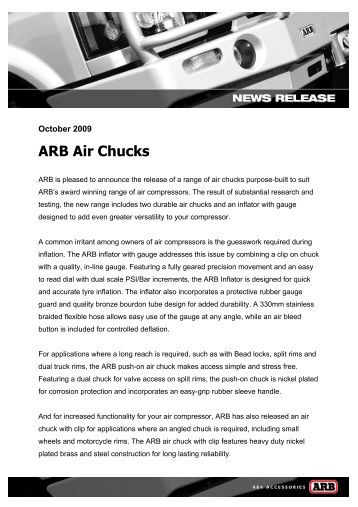 arb air locker air operated locking differentials arb air chucks
