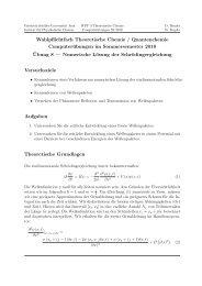 Versuch 8 - Friedrich-Schiller-Universität Jena