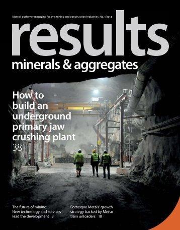 minerals & aggregates
