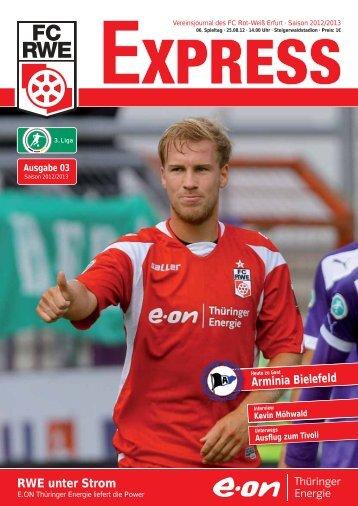 IGELS Fanbude - mobil - FC Rot-Weiss Erfurt e.V.