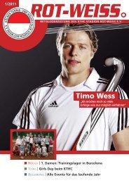Events für das laufende Jahr Timo Wess - Rot-Weiß Köln