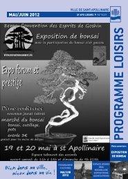 st apo environnement - Ville de Saint-Apollinaire