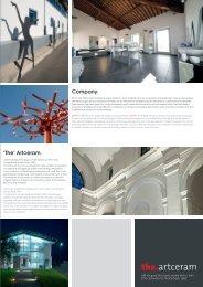 'The' Artceram. Company.