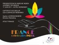 presentation du marche indien journee technique 17 ... - Atout France