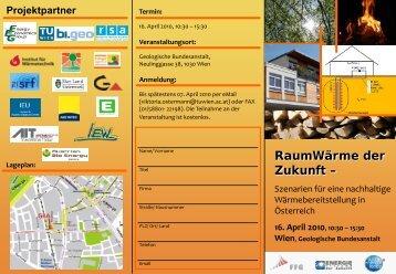 Programmfolder - Forschungsbereich Grundbau, Boden- und ...