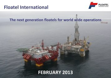 Floatel International FEBRUARY 2013