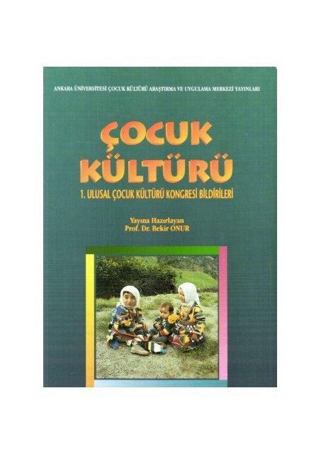PDF Dosyası - Ankara Üniversitesi Kitaplar Veritabanı