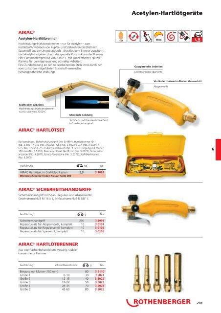 Löt- und Schweißtechnik - Rothenberger
