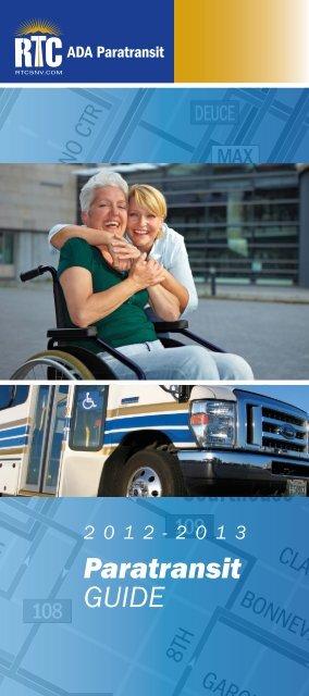 Paratransit GUIDE - Regional Transportation Commission of ...