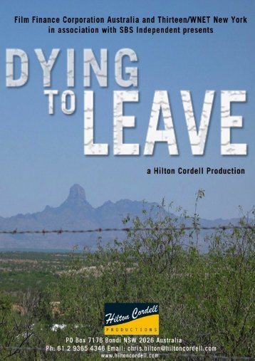 Click here to download DYING TO LEAVE press kit. - Ronin Films
