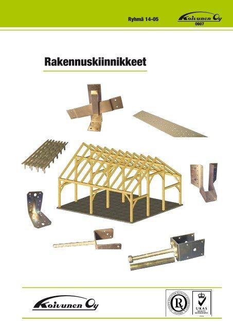 Rakennuskiinnikkeet - Koivunen Oy