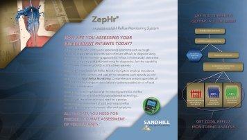ZepHr® ZepHr® - Sandhill Scientific