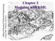 Using UML, Patterns, and Java