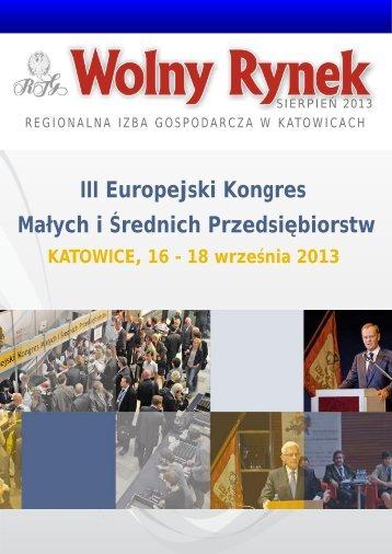 III Europejski Kongres Małych i Średnich Przedsiębiorstw