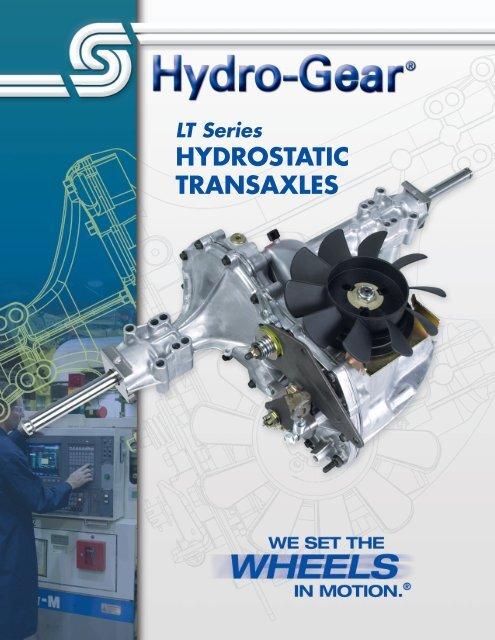 Hydro-Gear LT Series Hydrostatic Transaxles