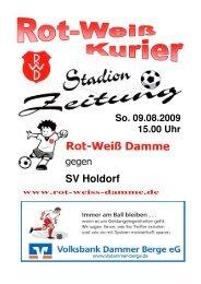 Saison 2009 / 2010 - Rot Weiss Damme