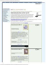 Bodeneinbauleuchten sortiert nach Ø - Mega Licht GmbH
