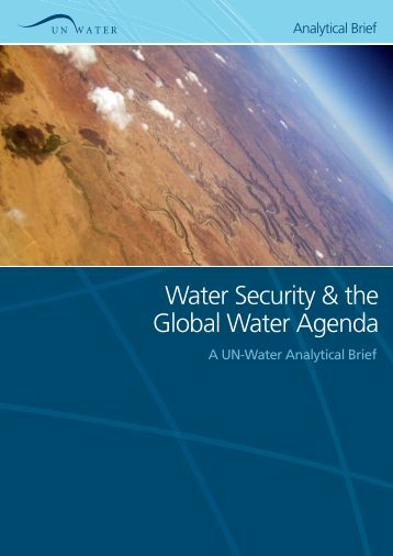 Water Security & the Global Water Agenda - United Nations University