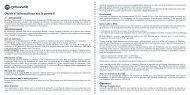 Guide d'informations sur le produit - GoBandit