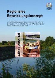 Regionales Entwicklungskonzept - Aller-Leine-Tal