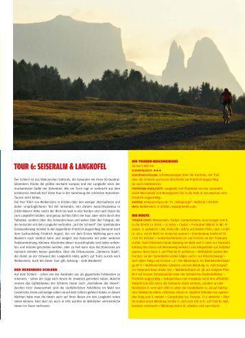 tour 6 - Mountainbike Urlaub in Südtirol