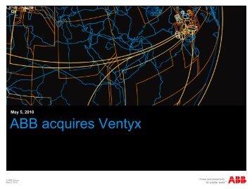 ABB acquires Ventyx - ABB - ABB Group
