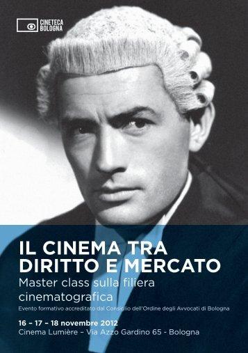IL CINEMA TRA DIRITTO E MERCATO