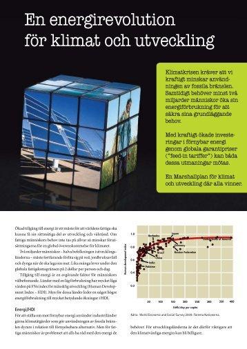 En energirevolution för klimat och utveckling