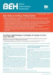 Le signalement des infections nosocomiales, France, 2001-2005 ...