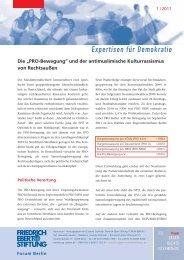 Expertisen für Demokratie - Friedrich-Ebert-Stiftung - Projekt gegen ...