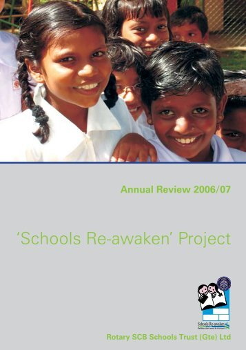 'Schools Re-awaken' Project - Rotary Sri Lanka