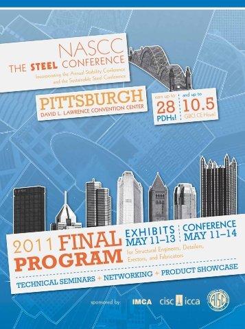 2011 final program - AISC