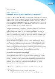 Limitierte Oral-B Design Editionen für Sie und Ihn - by rp-press.com