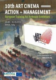 10th Art CinemA ACtion + mAnAgement - San Servolo Servizi