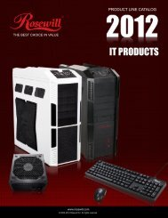 IT PRODUCTS - Rosewill.com