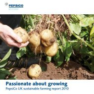 Passionate about growing - PepsiCo