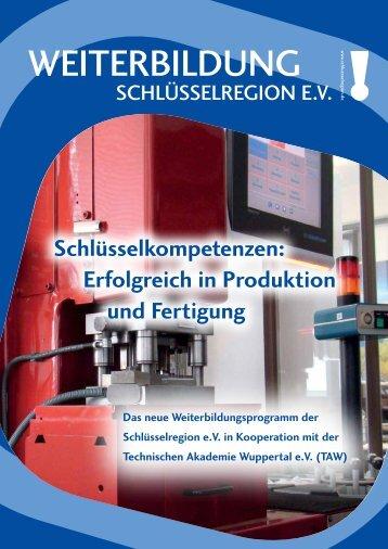 Informationsbroschüre - Die Schlüsselregion eV