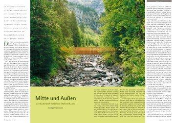 Mitte und Außen - Hagia Chora Journal