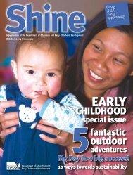 Shine Magazine, Issue 9, October 2009 - Department of Education ...