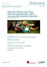 Film des Monats 03/ 2012: The Liverpool Goalie ... - Kinofenster.de