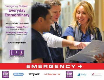Download the 2013 EN Week Poster - Emergency Nurses Association