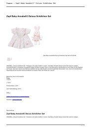 Puppen : Zapf Baby Annabell© Deluxe Schäfchen Set