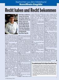 Recht haben und Recht bekommen - Deutscher Mieterbund