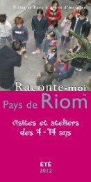 RIOM CO pat.2006 OK - Riom Communauté
