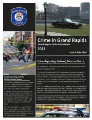 Crime in Grand Rapids 2011 - City of Grand Rapids