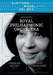 ROYAL PhiLhARmOnic ORchestRA - Blog del Auditorio Miguel ...