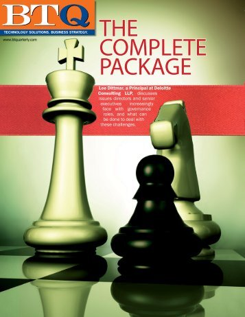 The Complete Package, Governance Alignment (Deloitte US)