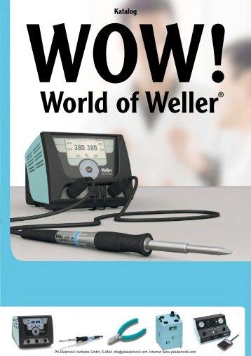 Katalog Weller Löttechnik und Entlöttechnik - PK Elektronik