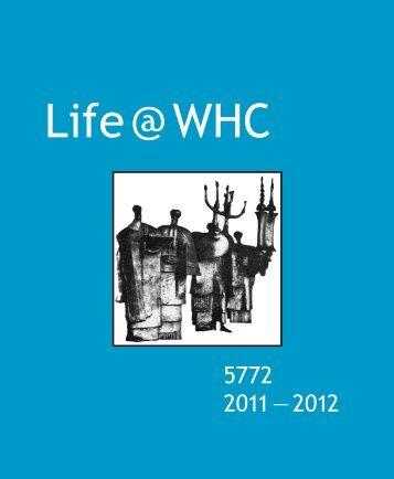 Life @ WHC - Washington Hebrew Congregation
