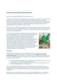Projectinfo Hollandse Waterlinie - Stichting Groene Hart